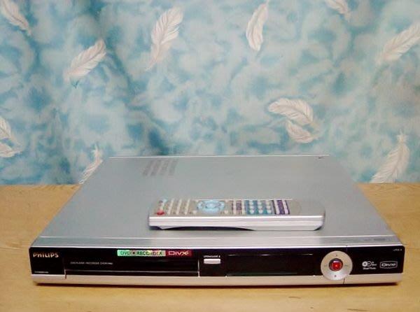 【小劉二手家電】PILIPS DVD錄放影機,DVDR3460型,附用遙控器,壞機也可修/抵!
