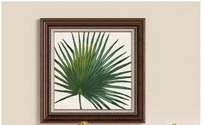 牆蛙美式鄉村客廳裝飾畫三聯沙發電視背景...