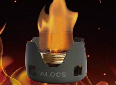 輕量化酒精爐 愛路客 ALOCS 輕便式攻頂爐 露營