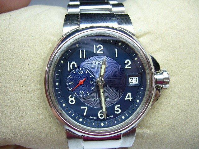 [吉宏精品交流中心]ORIS 豪利時 不鏽鋼 自動機械 男錶