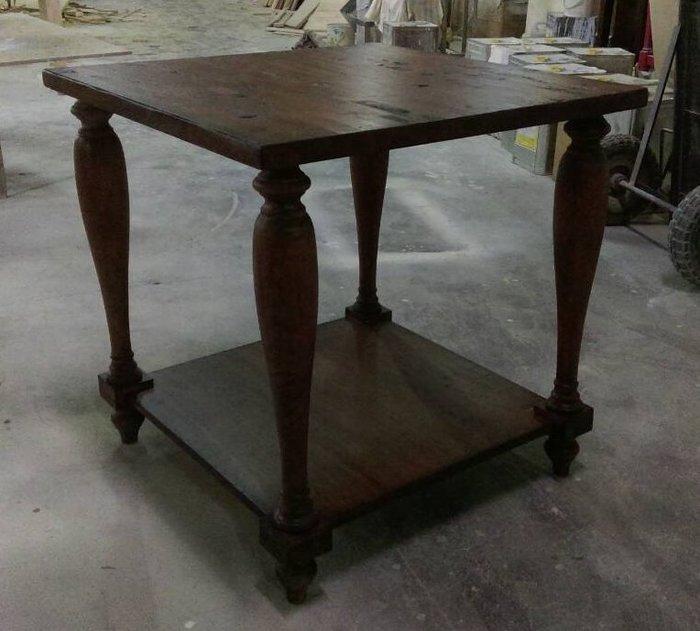 美生活館---全新 美式 鄉村風格--- DT-A2102  圓柱 小茶几/邊桌/角落桌