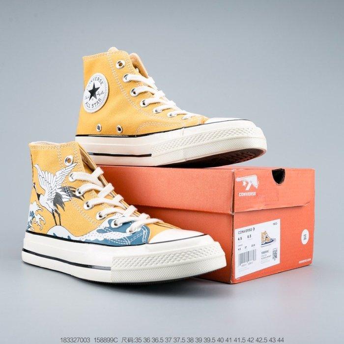 匡威Converse 1970s 帆布鞋 男女鞋 板鞋 真標雙圍條軟藍底,高清潔度
