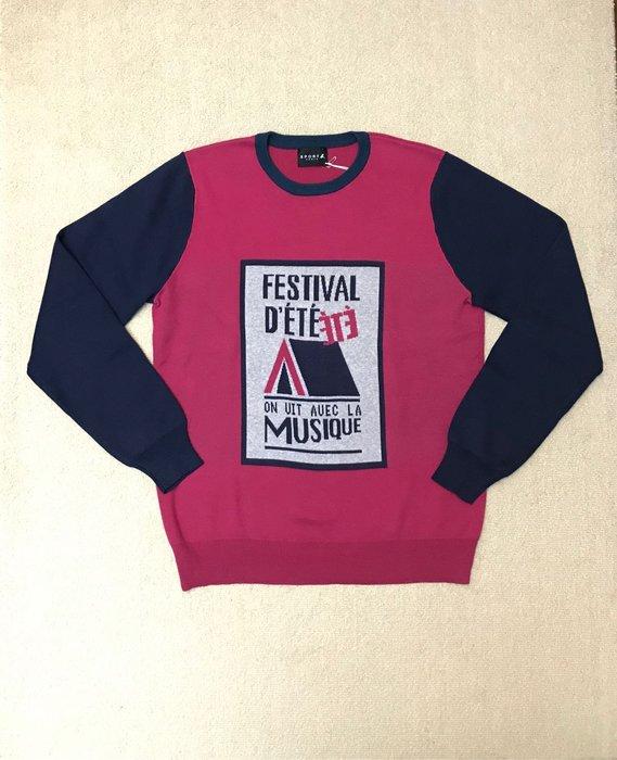 Sport'b 桃紅針織衫