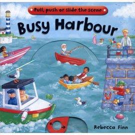 *小貝比的家*﹝趣味拉拉書﹞Busy Harbour /Busy BK/硬頁