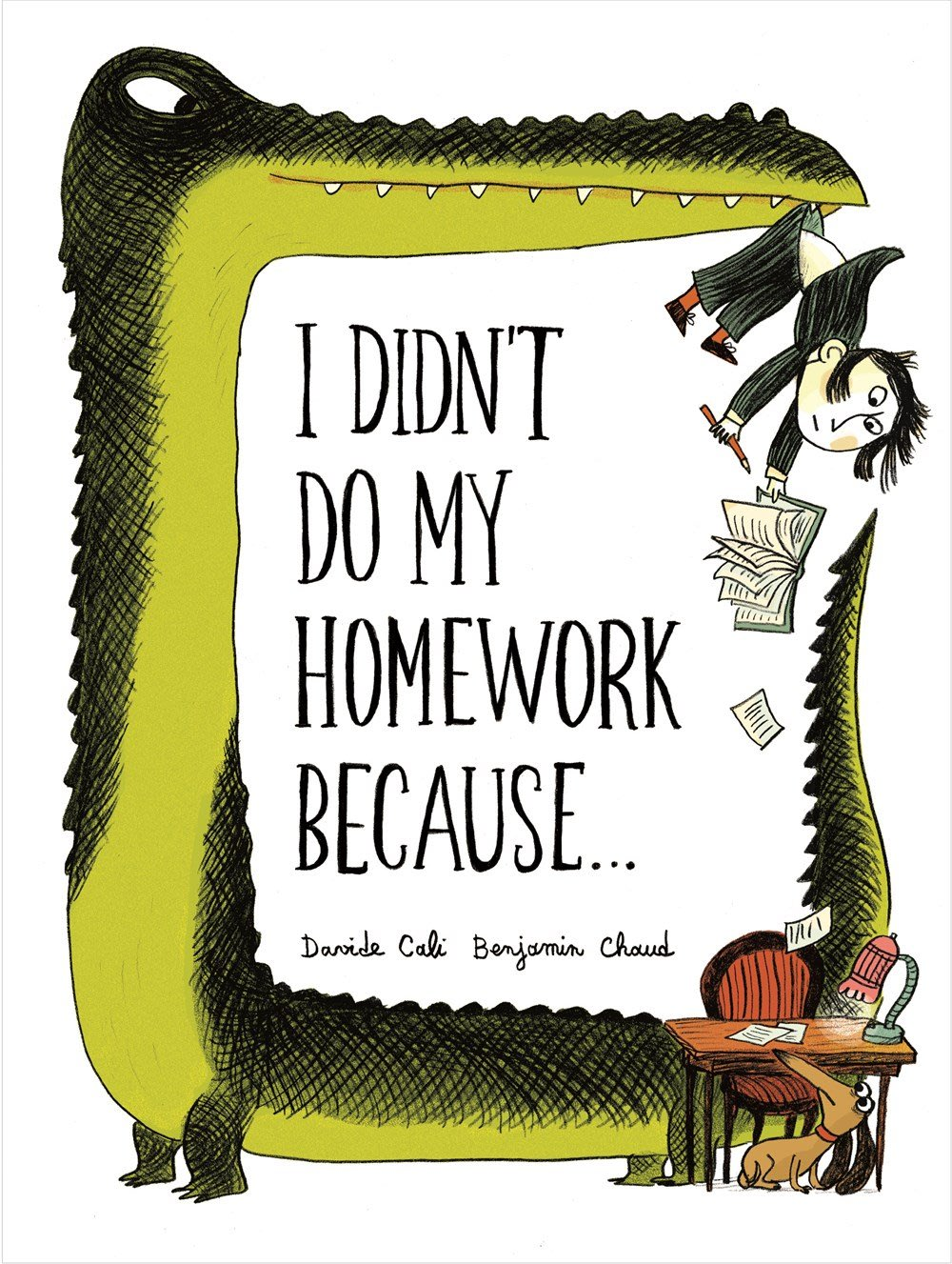 *小貝比的家*I DIDNT DO MY HOMEWORK BECAUSE/精裝/7-12歲/李貞慧-PART2.