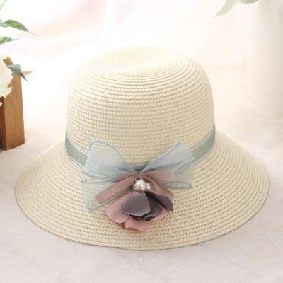 草 帽 防曬遮陽漁夫帽-海邊渡假時尚精美女帽子3色73rp11[獨家進口][米蘭精品]
