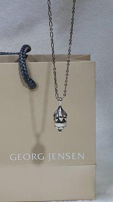 旺角名店 Georg Jensen 1991年度項鍊 首刻版