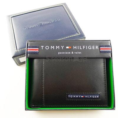 【TOMMY專櫃正品】美國 TOMMY HILIFGER 專櫃購入小布標 照片可拆  短夾禮盒