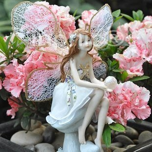 INPHIC-歐式創意家居飾品 樹脂工藝裝飾擺飾 甜美花仙