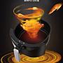 台灣出貨 氣炸鍋 5.5L 多功能氣炸鍋 觸控螢幕 電炸鍋 空氣炸鍋 少油輕食 漩渦式熱流【KE201】