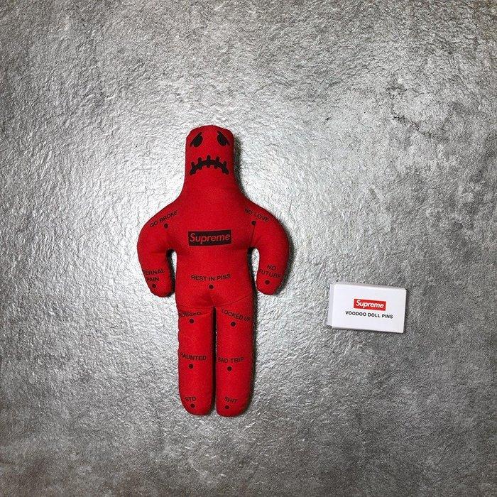 【Faithful】SUPREME Voodoo Doll【FW19A70】巫毒娃娃 玩偶