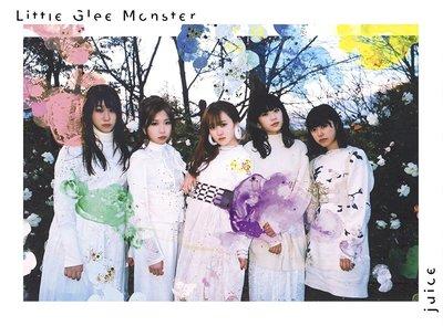特價預購 Little Glee Monster juice (日版初回限定盤CD+DVD)  2018最新 航空版