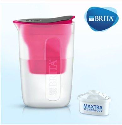 【清淨淨水店】德國BRITA fill&enjoy FUN/ 酷樂濾水壺 /酷樂壺1.5L(粉紅色)1壺1芯價780元。