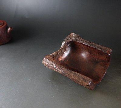 印度小葉紫檀 「茶荷 茶則」風化老料 帶金星 油性非常好 B941