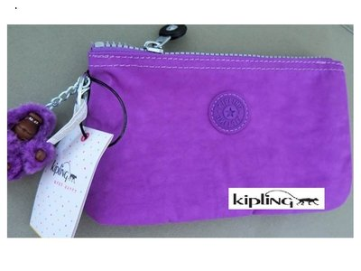 美國正品 KIPLING AC2084 紫色化妝/收納包