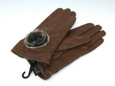 羊皮 女士手套  全新品