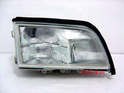 【UCC車趴】BENZ 賓士 W202  93 94 95 96 原廠型 歐規 玻璃大燈 一組4400