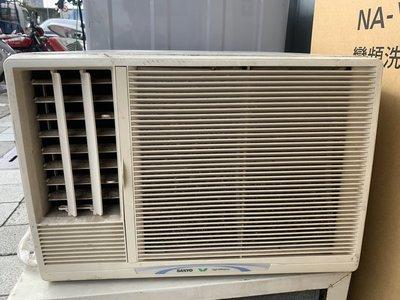 【台北實體店面】 二手 冷氣 110V 三洋 左吹 0.8噸 中古 窗型 SA-L2231 功能均正常 適套房 學生雅房