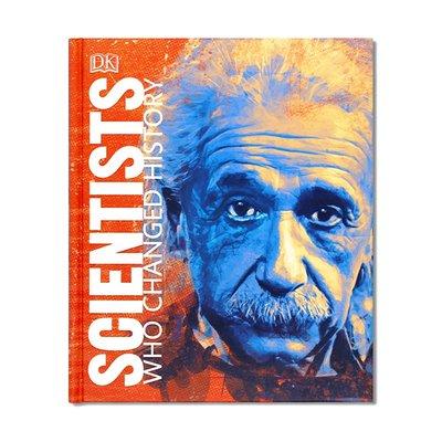 Scientists Who Changed History 改變歷史的科學家們 插圖傳記系列講述科學家們生活成就 DK大百科 英文原版