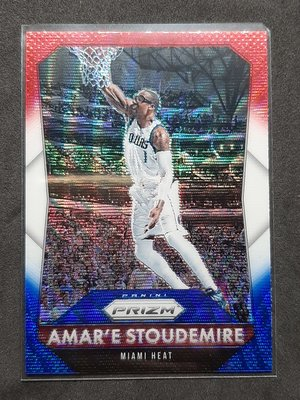 Amar'e Stoudemire 2015-16 Prizm Red White and Blue