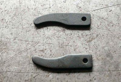 沖壓製造加工 3.2mm厚 S45C 中碳鋼片 41*10mm 台中市