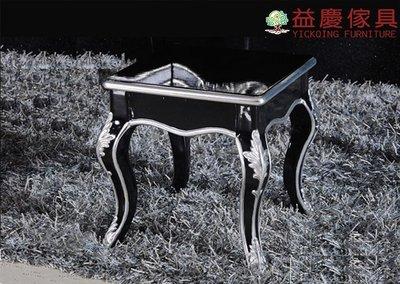 【大熊傢俱】舊銀狐 CT0350 新古典 化妝凳 椅子 茶几  電話几 邊几