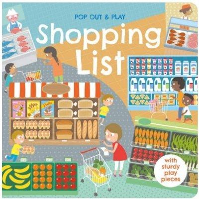 全新Shopping List (Pop Out & Play) 拼圖遊戲書