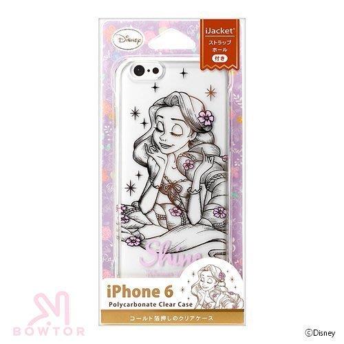 光華商場*包你個頭日本 正版  iphone6 4.7 小美人魚 透明 軟殼 保護殼 背蓋848