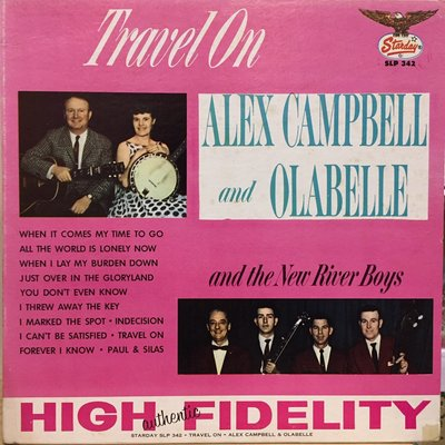 §小宋唱片§美版/Alex Campbell,Olabelle,New River Boys-Travel/二手西洋黑膠