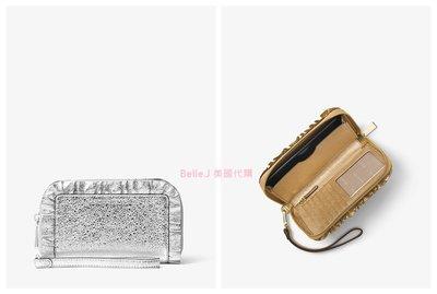 ❤Belle.J 美國代購❤ 2018新款 Michael Kors Ruffled Leather 長夾 皮夾 錢包