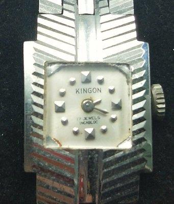 OQ精品腕錶  瑞士手上鍊女錶機械錶壓克力鏡面不含龍頭16MM