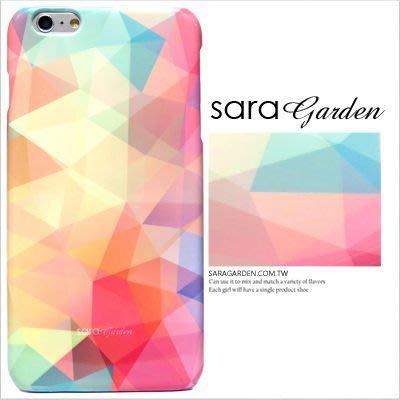 客製化 手機殼 iPhone 7 6 6S Plus【多型號製作】保護殼 馬卡龍三角彩虹 G421