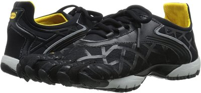 =CodE= VIBRAM FIVEFINGERS VYBRID 多功能五趾鞋(黑灰黃) 赤足跑步 健身拳擊 粉 女