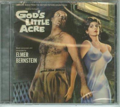 """""""上帝的小畝地 God's Little Acre""""- Elmer Bernstein(78),全新美版"""