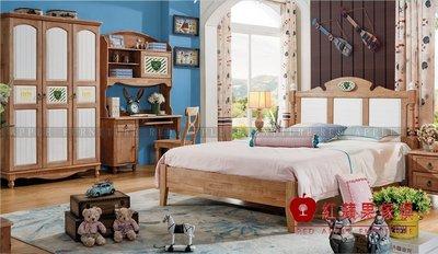 [ 紅蘋果傢俱 ] LM-T019 湯米迪克系列 兒童床 床架 床組 床台 數千坪展示