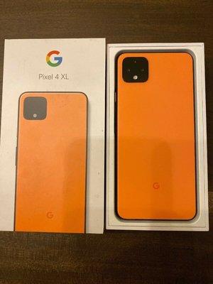 Google Pixel 4 XL G020J Oh So Orange / Black / White 64GB 128GB
