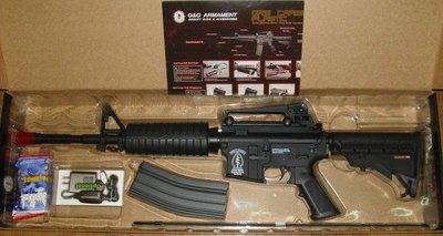 【原&型生存】G&G 怪怪 半金屬 M4A1 Carbine 電動槍 EBB,電槍(槍機可動)