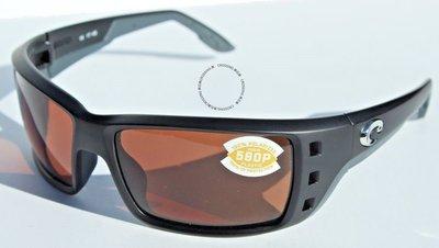 COSTA DEL MAR Permit POLARIZED太陽眼鏡黑色/銅色580P新款 169