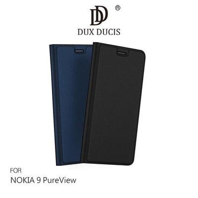 *phone寶*DUX DUCIS NOKIA 9 PureView 奢華簡約側翻皮套 可站立 可插卡 保護套