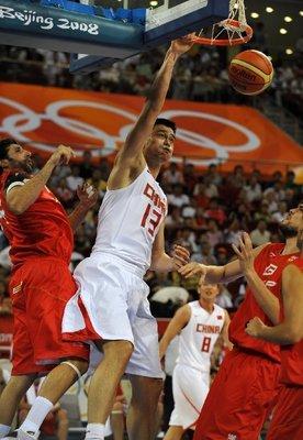 NIKE 中國男籃 2008 北京奧運 球褲 主場白色 M號 全新  KOBE LBJ