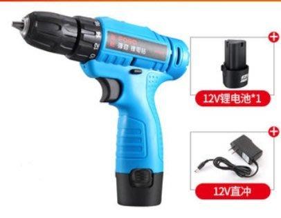 鋰電池 電鑽 電動起子 機身保固1年500元 12V鋰電充電電鑽手電鑽手槍鑽電動螺絲刀