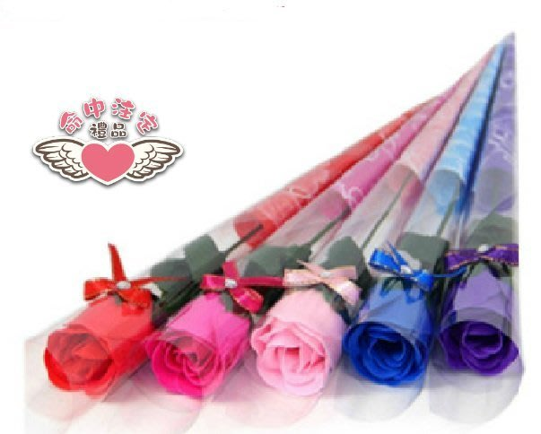 ☆命中注定☆玫瑰香皂花束,(5色百份贈花束包裝或姓名貼)二次進場婚禮小物,棉花糖,畢業禮,開幕哩,情人節,教師節