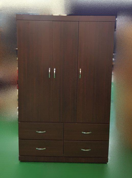 二手家具 台中 宏品全新中古傢俱 OH1231CH*全新台灣製造衣櫃 衣櫥 斗櫃 收納櫃 置物櫃*臥室家具 床組 床墊