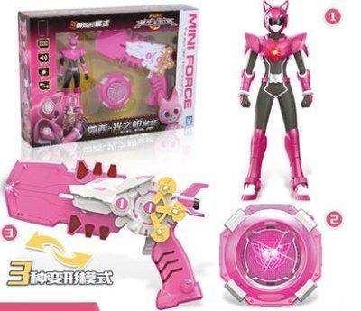 【預購+套裝組】迷你特工隊X露西,雷機甲,變形機器人,金剛汽車,米米特工隊x的玩具女孩