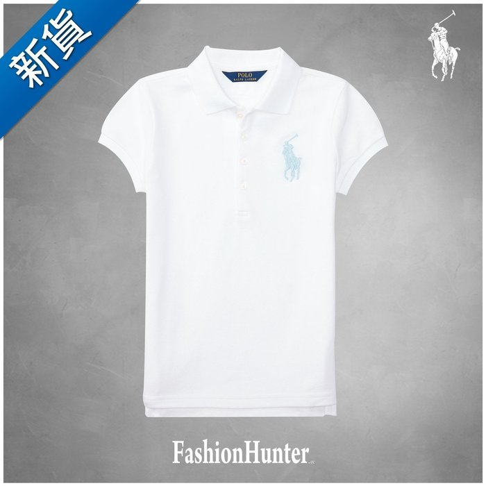 新貨【FH.cc】Ralph Lauren Big Pony Cotton Mesh Polo衫 刺繡大馬 彈性 修身版