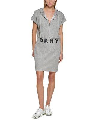 DKNY Hooded Logo T-Shirt Dress 10/4止