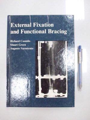 6980銤:A0-3de☆1989年『External Fixation and Functional Bracing』