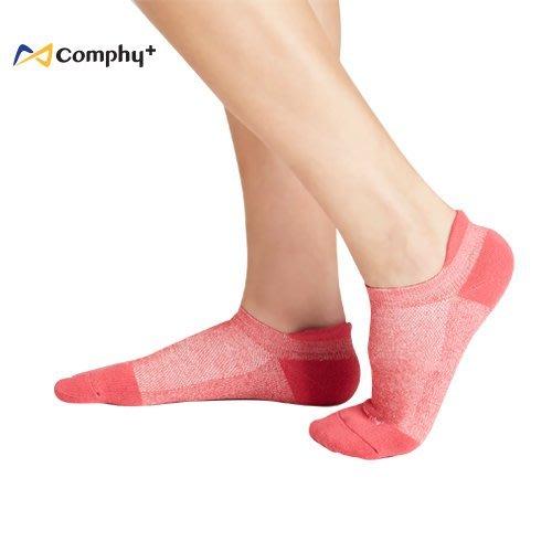 【線上體育】COMPHY+ 阿瘦集團 勁能踝上襪-胭脂紅 M