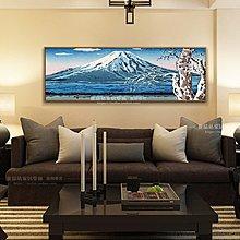 日本浮世繪有框畫葛飾北齋海浪壁畫日式風格料理店客廳酒店裝飾畫(6款可選)