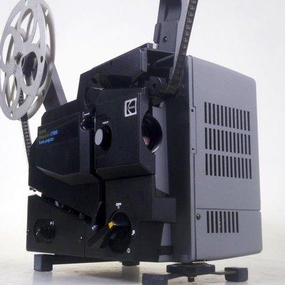 百寶軒 老物件柯達KodakCT1000槽式機16毫米/16mm電影機放映機功能正常 ZG3485
